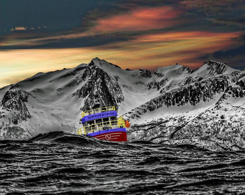 Pescadores profecionales mala ,mar