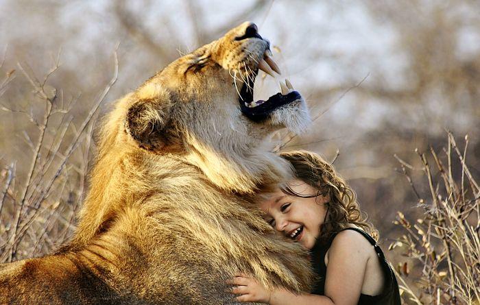 Domadores de leones u otros animales