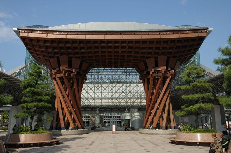Kanazawa Japan station