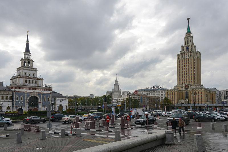 Station Kazansky Moscú