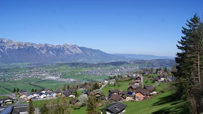 Planken Liechtenstein