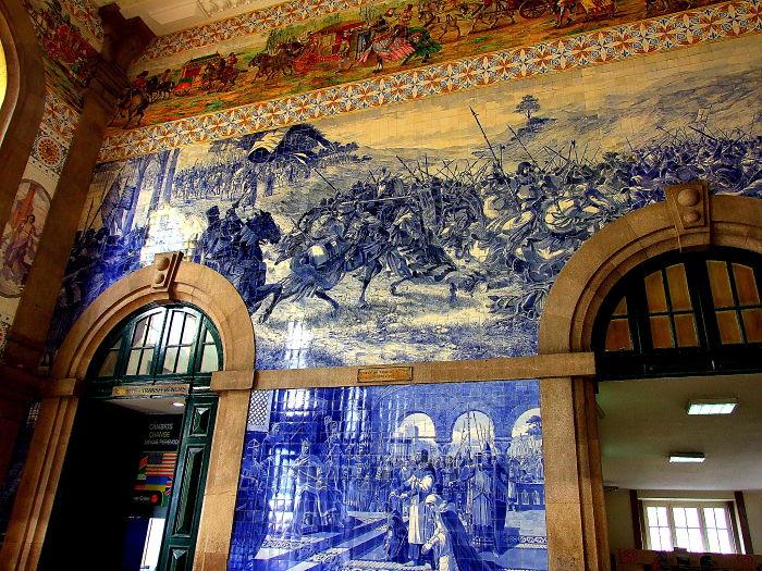 Station Porto São Bento Portugal