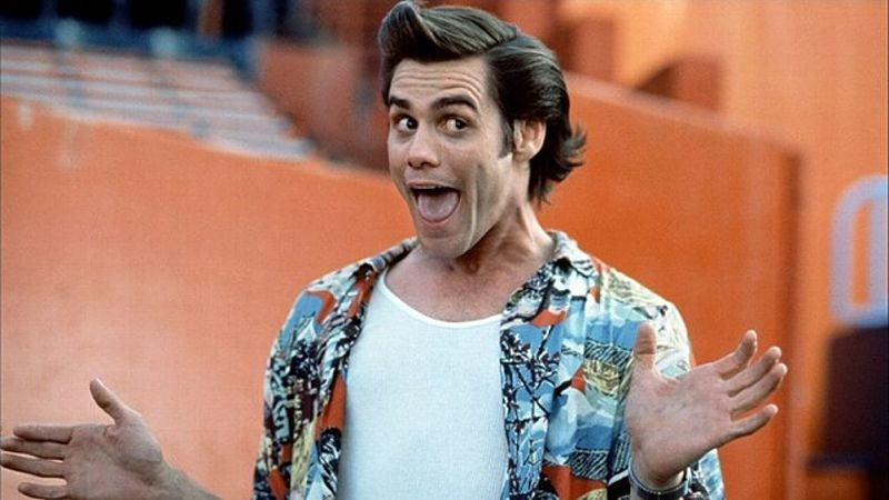 Actor ridículo Jim Carrey