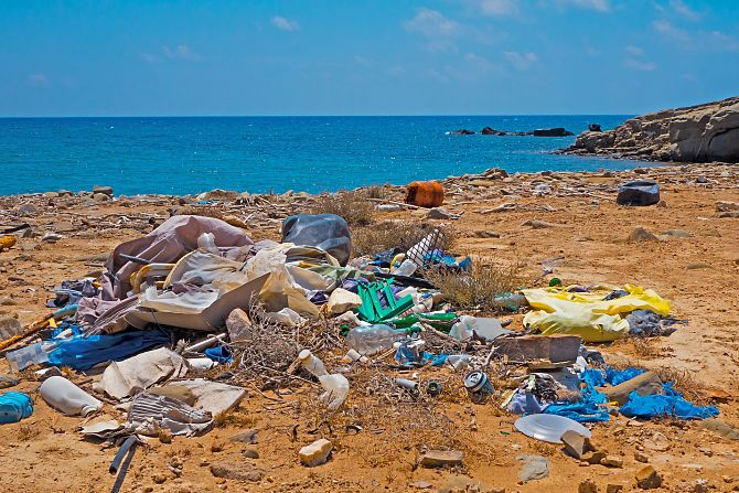 la contaminación marítima