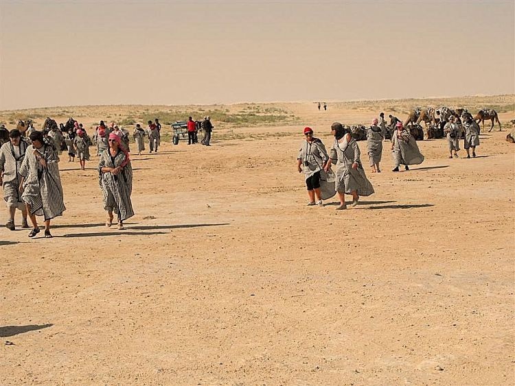 Kebili en Túnez