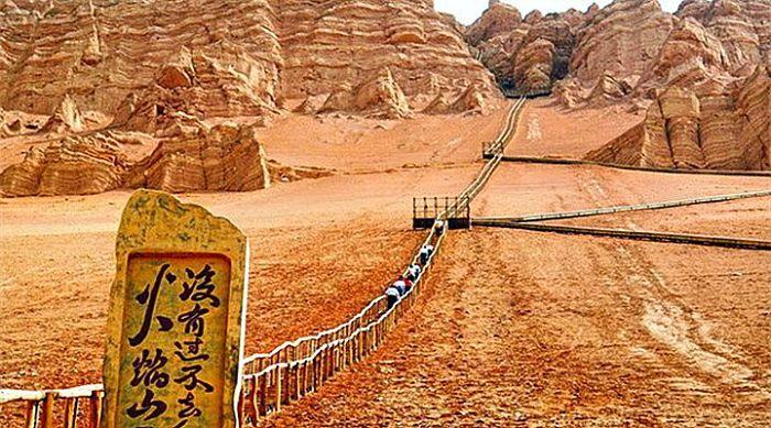 Montañas de Gaochang
